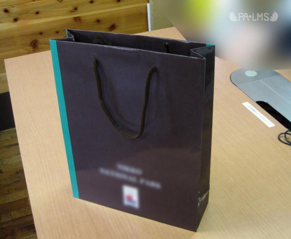 手提げ型紙袋の制作